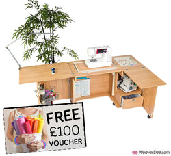 Horn Calypso Sewing Machine Cabinet + FREE £100 VOUCHER