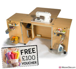 Horn Maxi Outback 1052 Sewing Machine Cabinet + FREE £100 VOUCHER