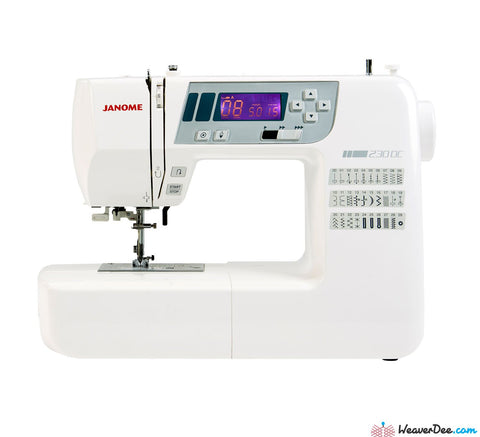Janome 230DC Sewing Machine (Includes Extension Sew-Table)