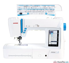 Janome - Janome ATELIER 7 Sewing Machine - WeaverDee.com Sewing & Crafts - 1