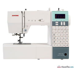 Janome - Janome DKS100 SE Sewing Machine - WeaverDee.com Sewing & Crafts - 1