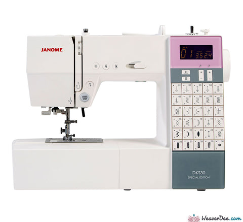 Janome - Janome DKS30 SE Sewing Machine - WeaverDee.com Sewing & Crafts - 1