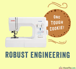 Janome - Janome HD2200 Sewing Machine - WeaverDee.com Sewing & Crafts - 1
