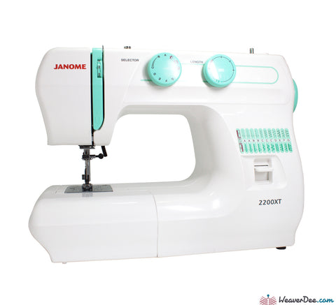 Janome - Janome 2200XT Sewing Machine - WeaverDee.com Sewing & Crafts - 1