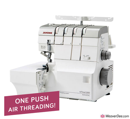 Janome AirThread 2000D Professional Overlocker
