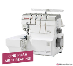 Janome AirThread 2000D Professional Overlocker + FREE THREADS WORTH £125
