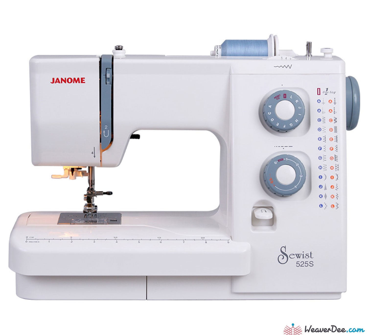 Janome - Janome Sewist 525S Sewing Machine - WeaverDee.com Sewing & Crafts - 1