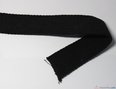 Prym - Cotton Bag Strap / Black - WeaverDee.com Sewing & Crafts - 1