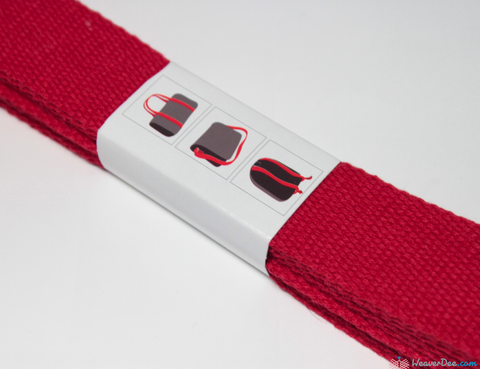 Prym - Cotton Bag Strap / Red - WeaverDee.com Sewing & Crafts - 1