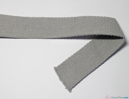 Prym - Cotton Bag Strap / Light Grey - WeaverDee.com Sewing & Crafts - 1