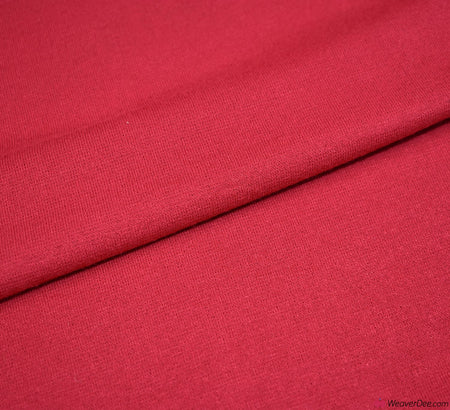 Knit Jersey Fabric - Red