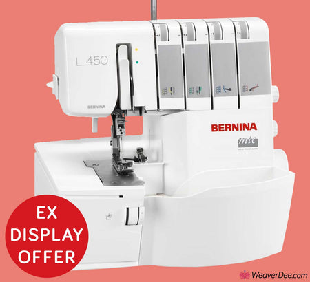 • EX-DISPLAY • Bernina L450 Overlocker