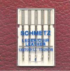 Leather Machine Needles [Pack of 5] Size 100