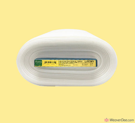 LEGACY Flex Foam Stabiliser (1 Sided Fusible) Lightweight