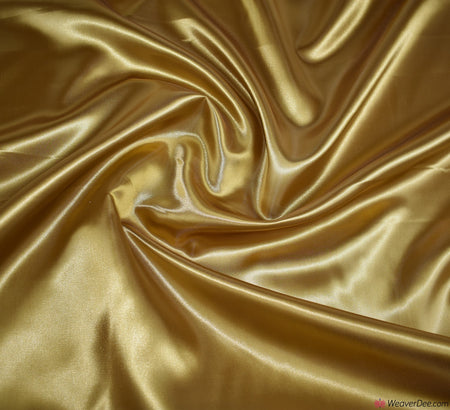 Liquid Satin Fabric / Gold