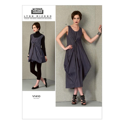 Vogue - V1410 Misses' Dress | Easy - WeaverDee.com Sewing & Crafts - 2