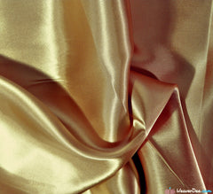 WeaverDee - Liquid Satin Fabric / Duff Antique Gold - WeaverDee.com Sewing & Crafts - 1
