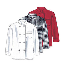 McCall's - M2233 Misses' & Mens' Chef Uniform - WeaverDee.com Sewing & Crafts - 1