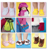 "McCall's - M3469 18"" Doll Accessories - WeaverDee.com Sewing & Crafts - 2"