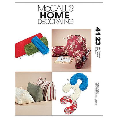 McCall's - M4123 Comfort Zone Pillows & Bolsters - WeaverDee.com Sewing & Crafts - 1