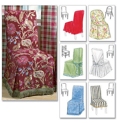 McCall's - M4404 Chair Cover Essentials - WeaverDee.com Sewing & Crafts - 1