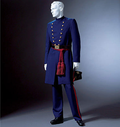 McCall's - M4745 Men's American Civil War Costumes - WeaverDee.com Sewing & Crafts - 1