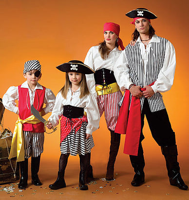 McCall's - M4952 Misses'/Men's/Boys'/Girls' Costumes - WeaverDee.com Sewing & Crafts - 1