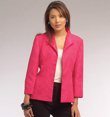 McCall's - M5668 Misses' Jackets | by Nancy Zieman - WeaverDee.com Sewing & Crafts - 1