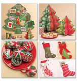McCall's - M5778 Christmas Decorations - WeaverDee.com Sewing & Crafts - 2