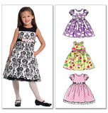 McCall's - M5793 Girls' Lined Dresses - WeaverDee.com Sewing & Crafts - 2