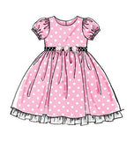 McCall's - M5793 Girls' Lined Dresses - WeaverDee.com Sewing & Crafts - 5