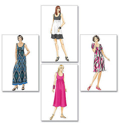 McCall's - M5893 Misses'/Women's Dresses In 4 Lengths - WeaverDee.com Sewing & Crafts - 1