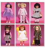 "McCall's - M6005 Clothes & Accessories for 18"" Doll - WeaverDee.com Sewing & Crafts - 2"