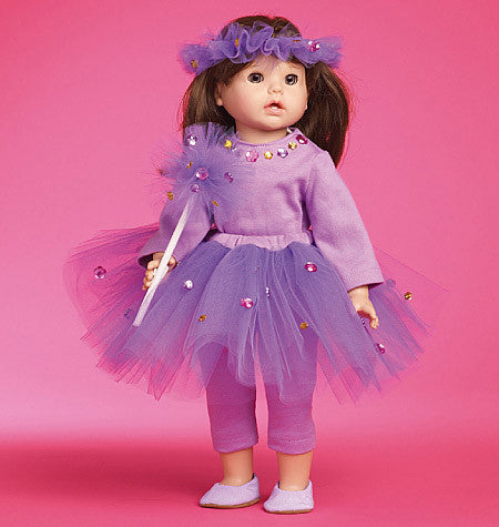 "McCall's - M6005 Clothes & Accessories for 18"" Doll - WeaverDee.com Sewing & Crafts - 1"