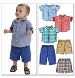 McCall's - M6016 Infants' Shirts, Shorts & Pants - WeaverDee.com Sewing & Crafts - 2