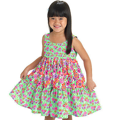 McCall's - M6017 Toddlers'/Children's Tops, Dresses, Shorts & Pants - WeaverDee.com Sewing & Crafts - 1