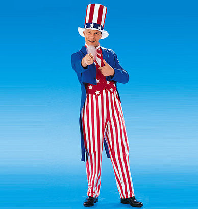 McCall's - M6143 Adults'/Boys'/Girls' USA Patriot Costumes - WeaverDee.com Sewing & Crafts - 1