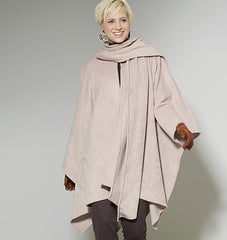 McCall's - M6209 Misses' Ponchos & Belt - WeaverDee.com Sewing & Crafts - 1