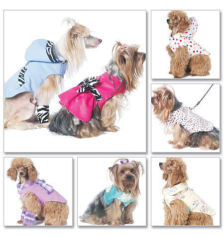 McCall's - M6218 Pet Clothes - WeaverDee.com Sewing & Crafts - 1