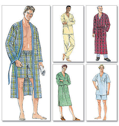 McCall's - M6231 Men's Sleepwear - WeaverDee.com Sewing & Crafts - 1
