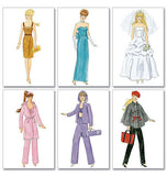"McCall's - M6258 Fashion Clothes For 11"" Doll - WeaverDee.com Sewing & Crafts - 2"