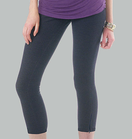 McCall's - M6360 Misses'/Women's Leggings In 4 Lengths - WeaverDee.com Sewing & Crafts - 1
