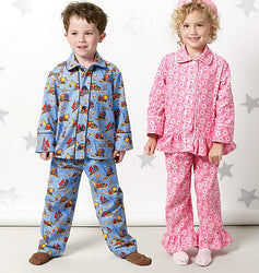 McCall's - M6458 Kid's Pyjama Tops & Pants - WeaverDee.com Sewing & Crafts - 1