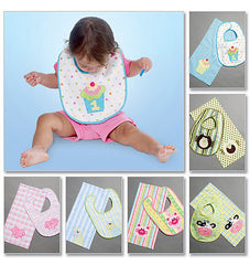 McCall's - M6478 Bibs & Burp Cloths - WeaverDee.com Sewing & Crafts - 1