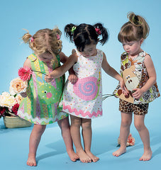 McCall's - M6541 Infants' Top, Dress, Shorts & Appliqués - WeaverDee.com Sewing & Crafts - 1