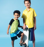 McCall's - M6548 Boys' Shirt, Top & Shorts - WeaverDee.com Sewing & Crafts - 1
