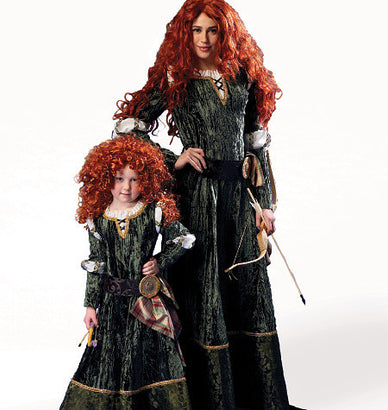 McCall's - M6817 Misses'/Girls' Scottish & Gothic Costumes - WeaverDee.com Sewing & Crafts - 1