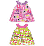 McCall's - M6912 Infants' Reversible Top, Dresses; Bloomers & Pants | Easy - WeaverDee.com Sewing & Crafts - 4
