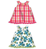 McCall's - M6912 Infants' Reversible Top, Dresses; Bloomers & Pants | Easy - WeaverDee.com Sewing & Crafts - 6