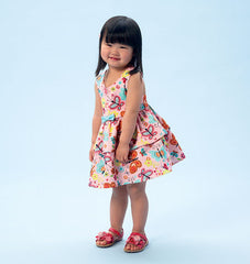 McCall's - M6944 Toddlers' Top, Dresses, Rompers & Panties | Easy - WeaverDee.com Sewing & Crafts - 1